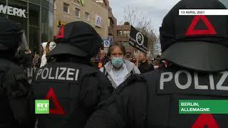 Allemagne : heurts entre police et opposants aux mesures contre le Covid-19